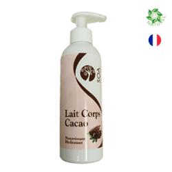 cosmétiques naturels Lait corps cacao
