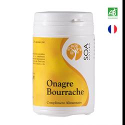Onagre bourrache complément alimentaire agriculture biologique (certifié AB)
