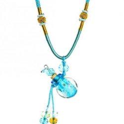 collier diffuseur huile essentielle Perle Lagune