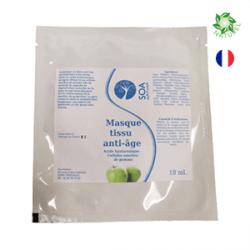 cosmétiques naturels masque tissus anti-rides